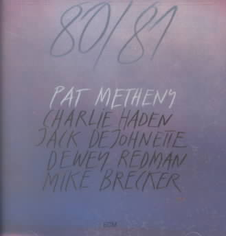 80/81 BY METHENY,PAT (CD)